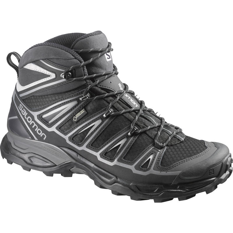 X Ultra Mid 2 GTX Light Trail Shoes Black/Aluminum