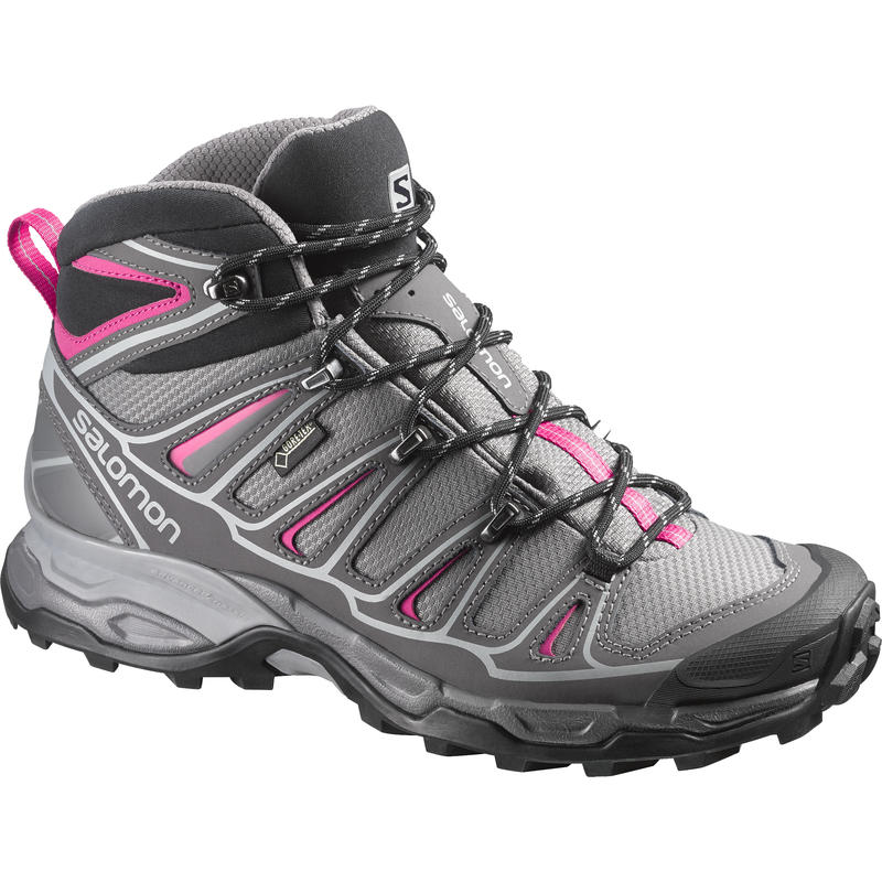X Ultra Mid 2 GTX Light Trail Shoes Detroit/Hot Pink