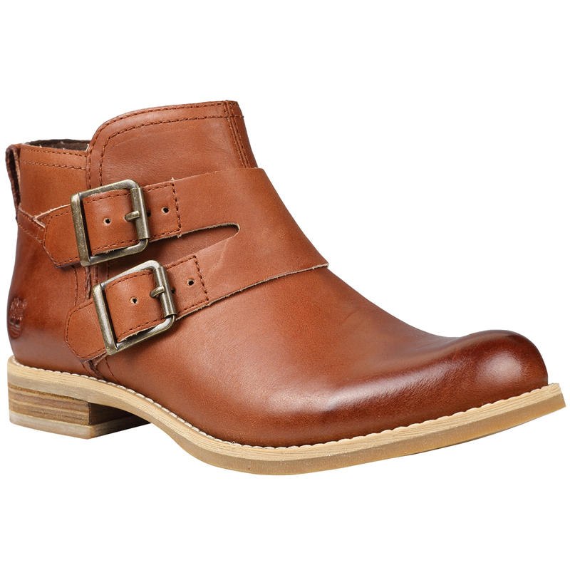 EarthKeepers Savin Hill Double Buckle Ankle Boot Light Brown/Dry Gulch