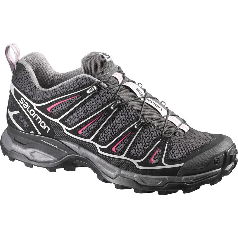 X-Ultra 2 Light Trail Shoes Asphalt/Black/Hot Pink