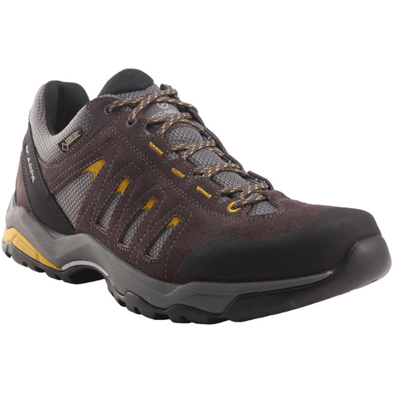 Moraine GTX Light Trail Shoes Charcoal/Mustard