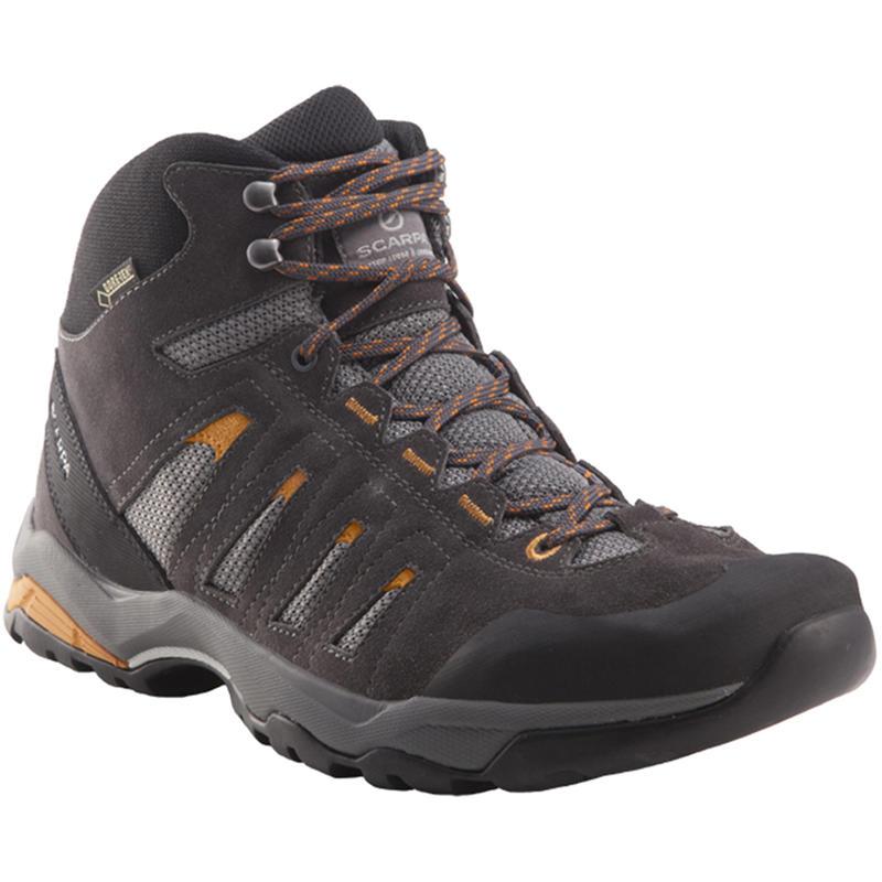 Chaussures de randonnée légère Moraine Mid GTX Fumée/Ambre