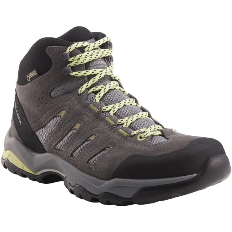 Moraine Mid GTX Light Trail Shoes Dark Grey/Celery