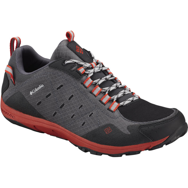 Conspiracy Razor Light Trail Shoes Charcoal/Sail Red