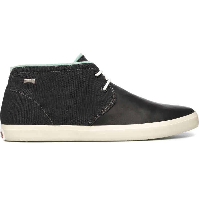 Chaussures mi-hautes Motel Noir/Acqua