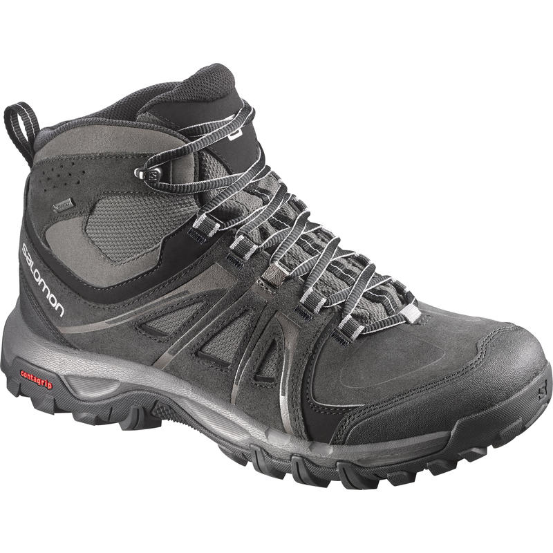 Evasion Mid GTX Light Trail Shoes Black/Pewter