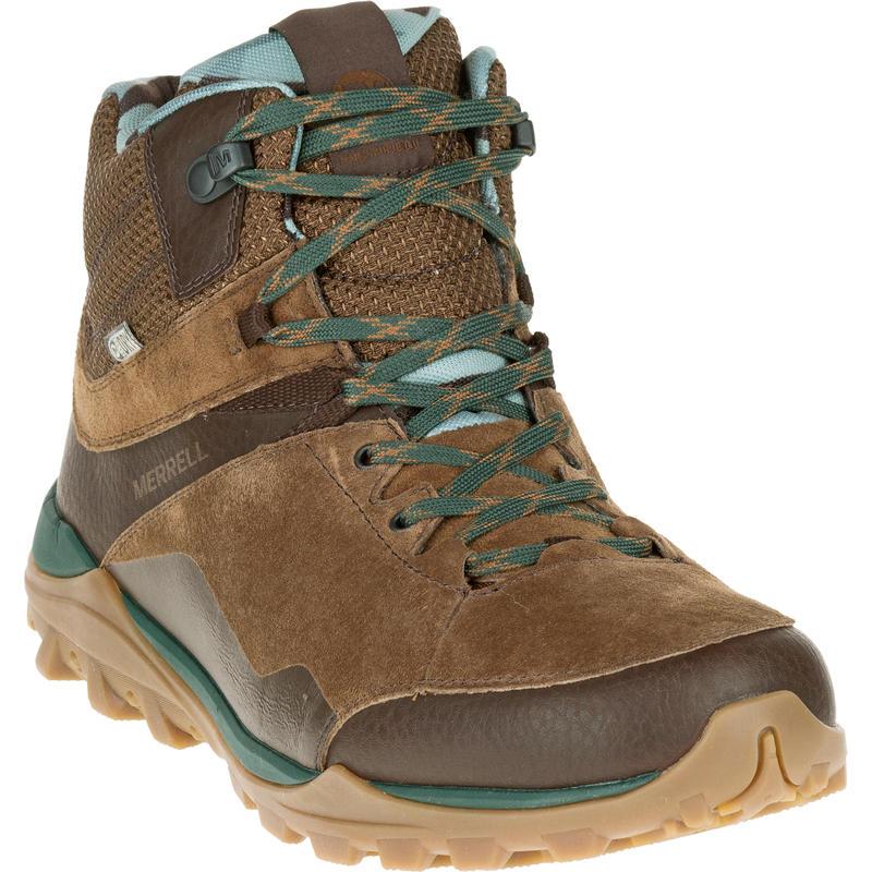 Chaussures de randonnée imperméables Fraxion Mid Brun chocolat