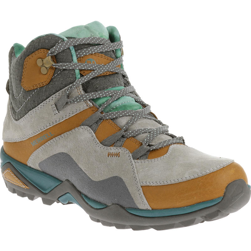 Light Shoes Mid Fluorecein Merrell Trail Women'sMec Waterproof UzSVpM