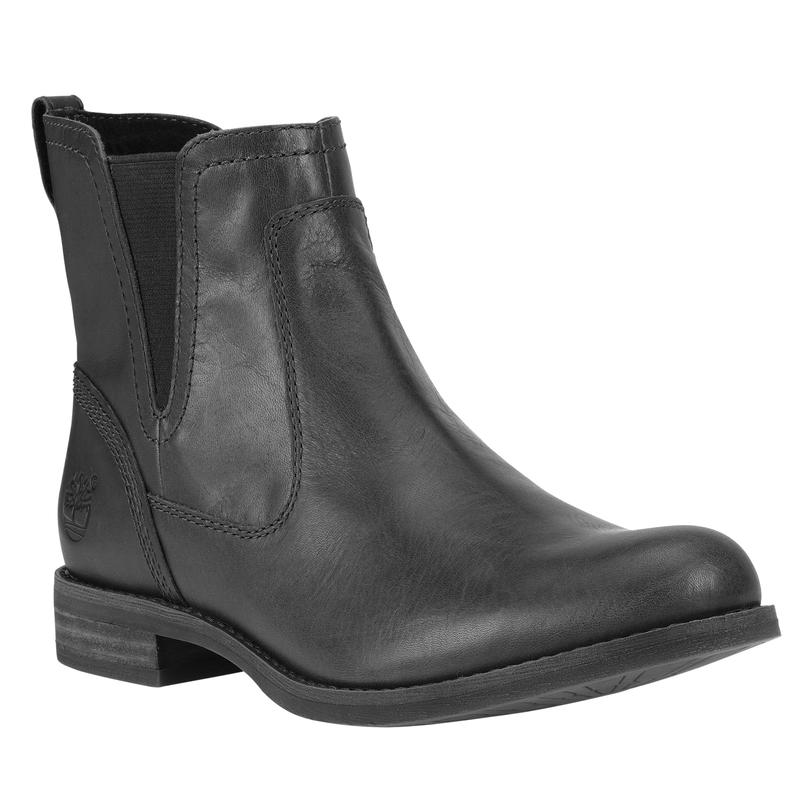 Savin Hill Chelsea Boots Black Full Grain