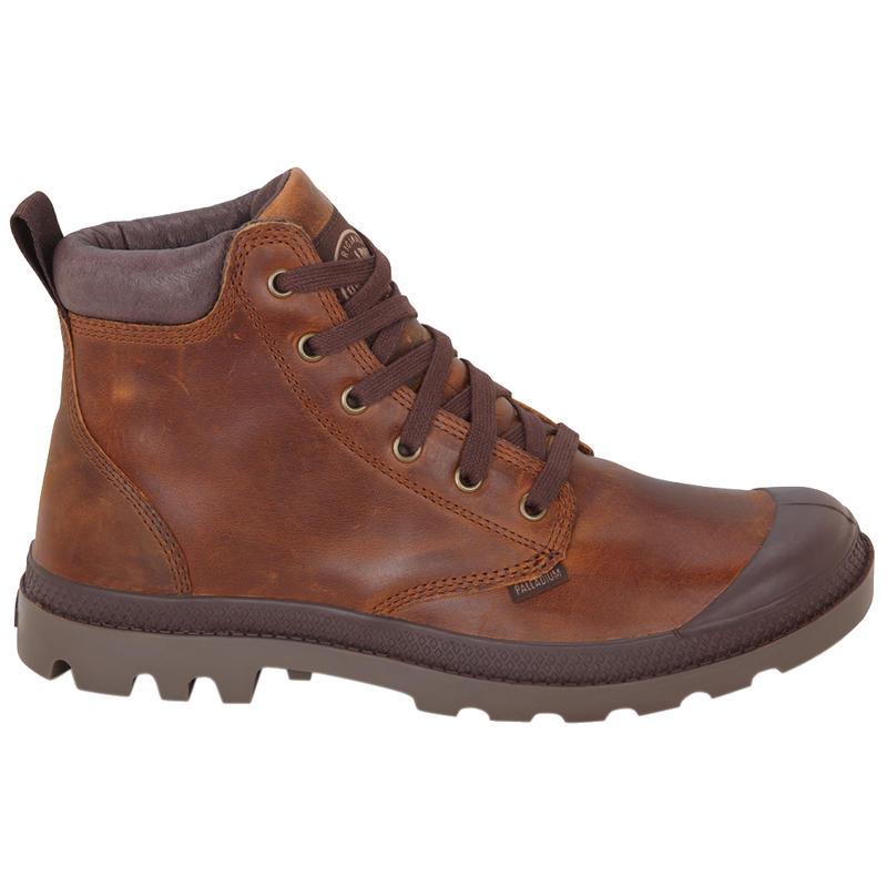 Pampa Hi Cuff Leather Boots Sunrise/Chocolate