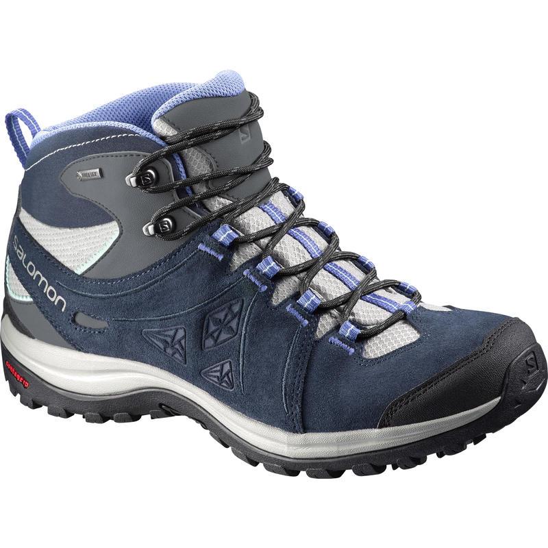 Chaussures de randonnée Ellipse 2 Mid Ltr GTX Titane/Bleu pétunia