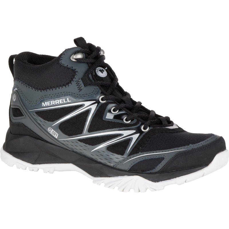 Chaussures imperméables mi-hautes Capra Bolt Noir