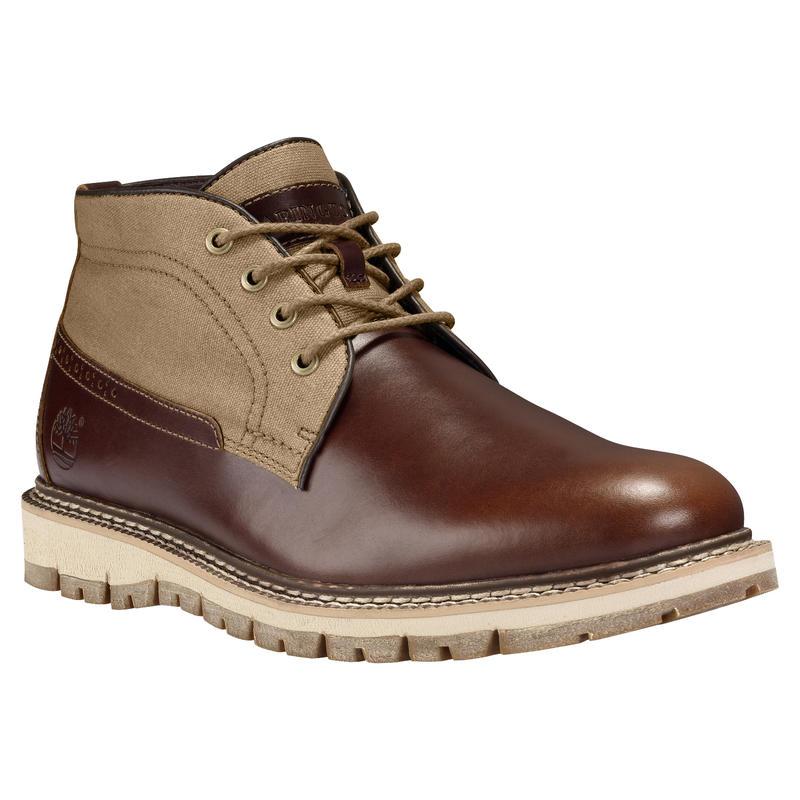 Chaussures chukka Britton Hill Quartz blé/Canevas ciré