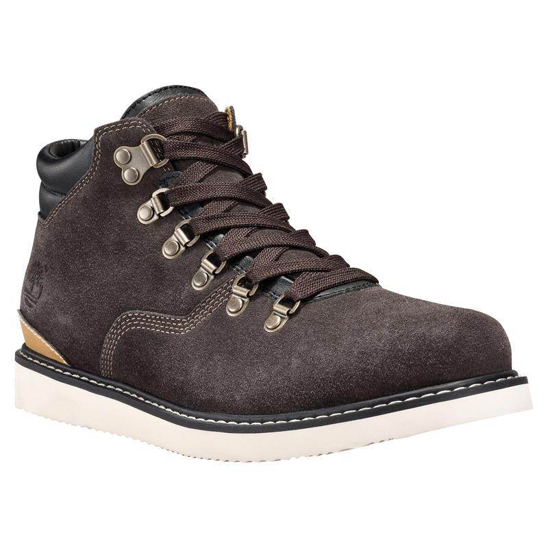 Newmarket Hiker Boots Mulch Silk Suede
