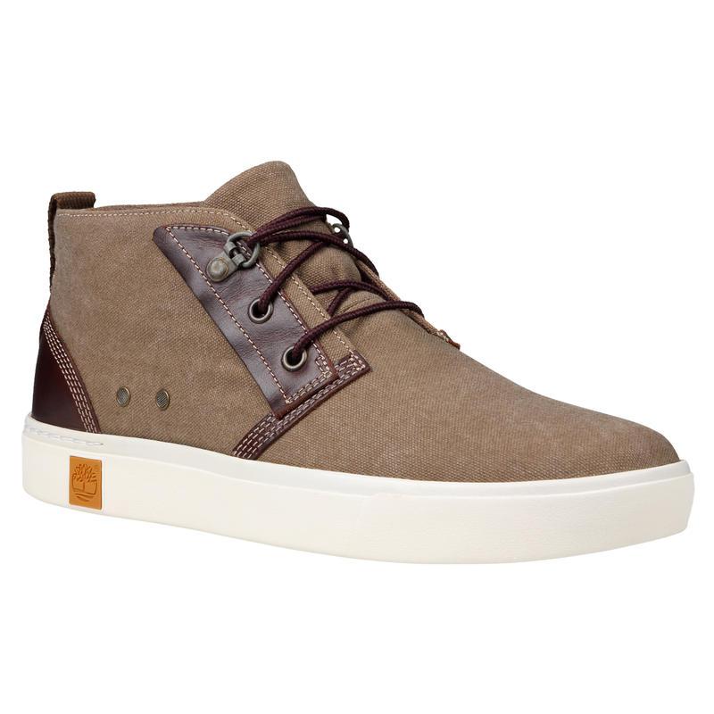 Chaussures Amherst Chukka Canevas délavé teck