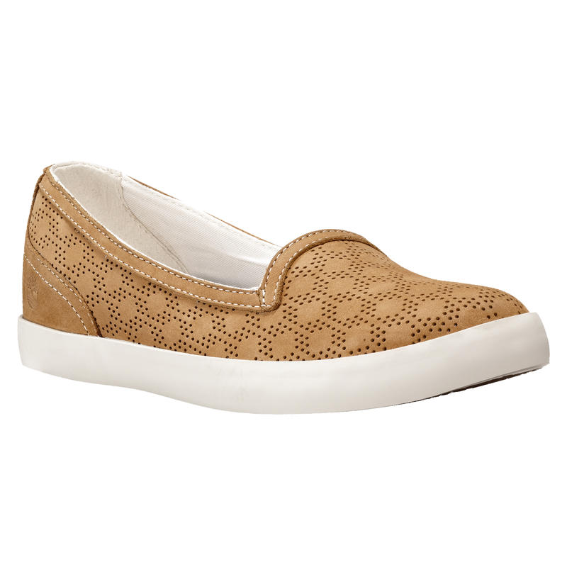 Brattleboro Perf Slip-On Shoes Wheat