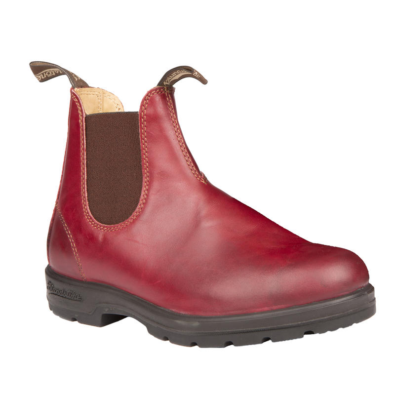 Leather Lined 1431 Boots Burgundy Rub
