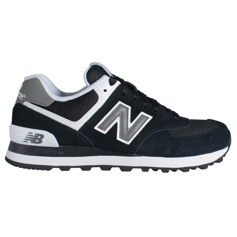 Chaussures 574 Noir/Blanc