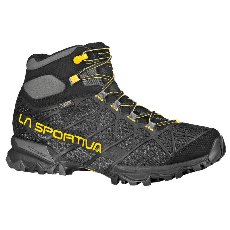 Core High GTX Light Hiking Shoes Black/Yellow
