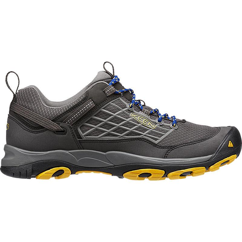 Chaussures de randonnée légère Saltzman Corbeau/Jaune Spectra
