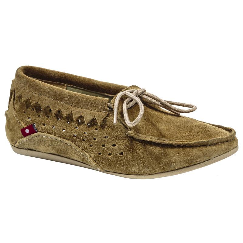 Chaussures Buduri Suède brun roux