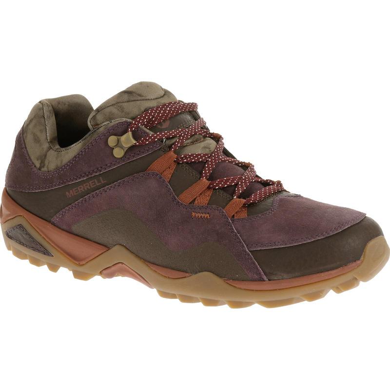 Chaussures de randonnée légère Fluorecein Rouge prune