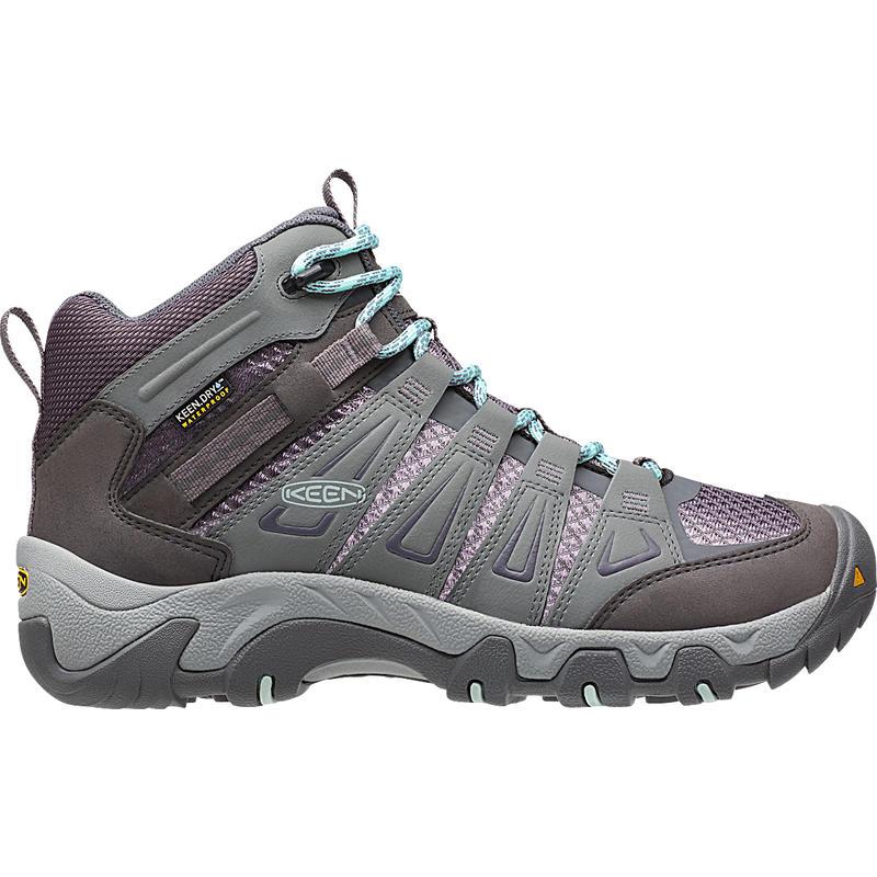 Chaussures de randonnée légère Oakridge Mid WP Gris/Requin