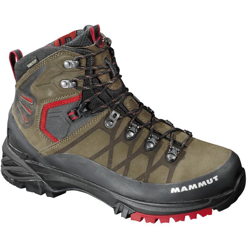 Pacific Crest GTX Backpacking Boots Dark Brown/Fire