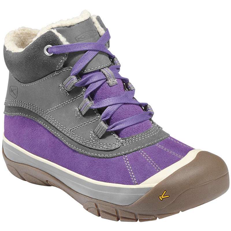 Brady Kids Shoes Purple Heart