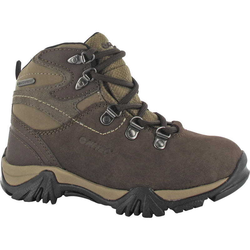 Oakkhurst Trail WP Jr Boots Dark Chocolate/Light Taupe