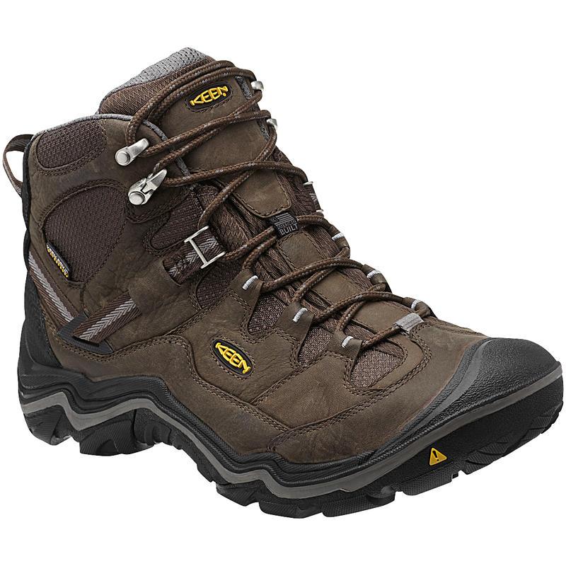 Chaussures de randonnée mi-hautes Durand WP Brun cascade/Gargouille