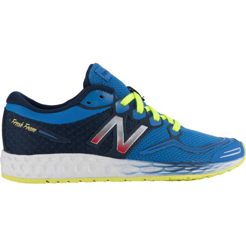 Fresh Foam Zante Running Shoes Blue/Yellow