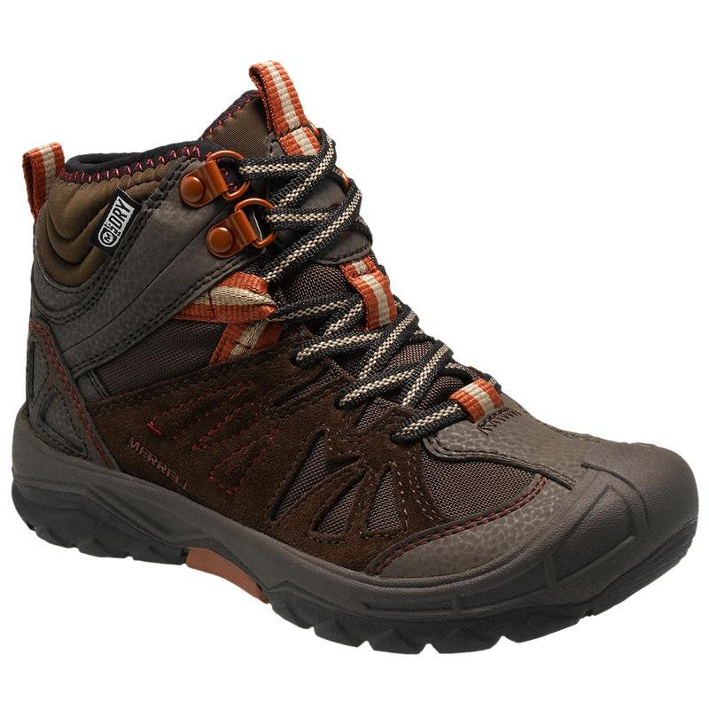 Capra Mid Waterproof Shoes Brown