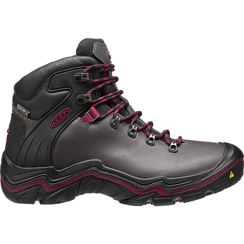Liberty Ridge Hiking Boots Gargoyle/Beet Red
