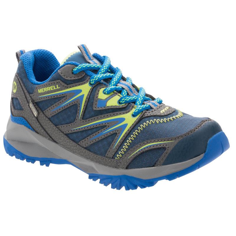 Chaussures basses imperméables Capra Bolt Marine/Citron