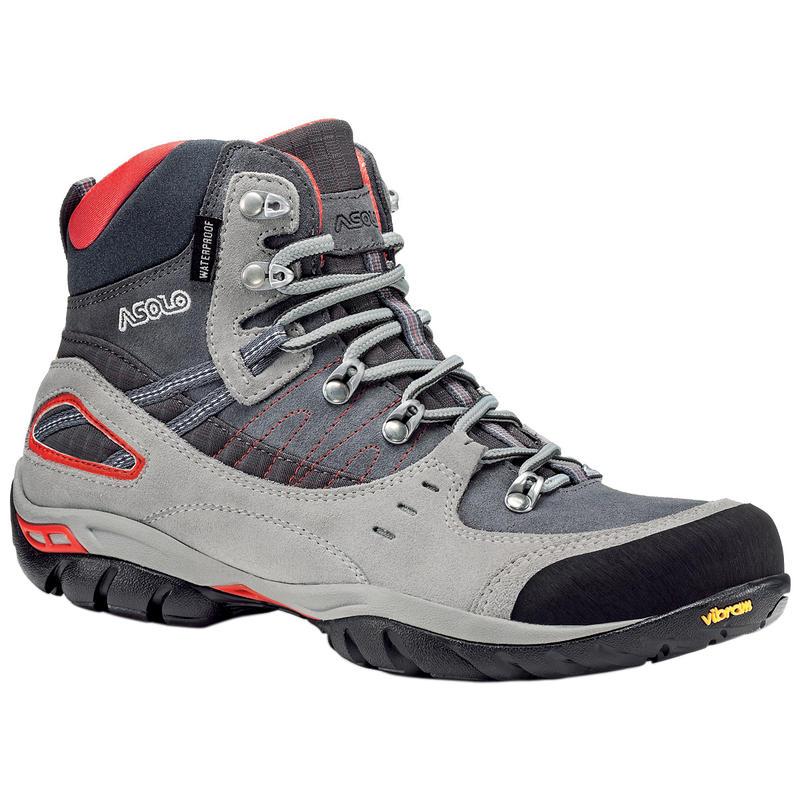 Yuma Waterproof Hiking Boots Silver/Grey