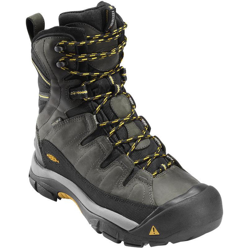 Summit County Boots Dark Shadow/Yellow