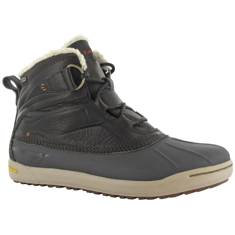 Sierra Duck Boots Dark Chocolate