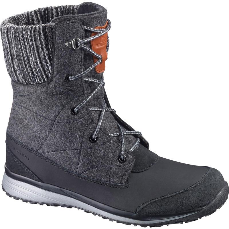 Hime Mid Winter Boots Black/Asphalt