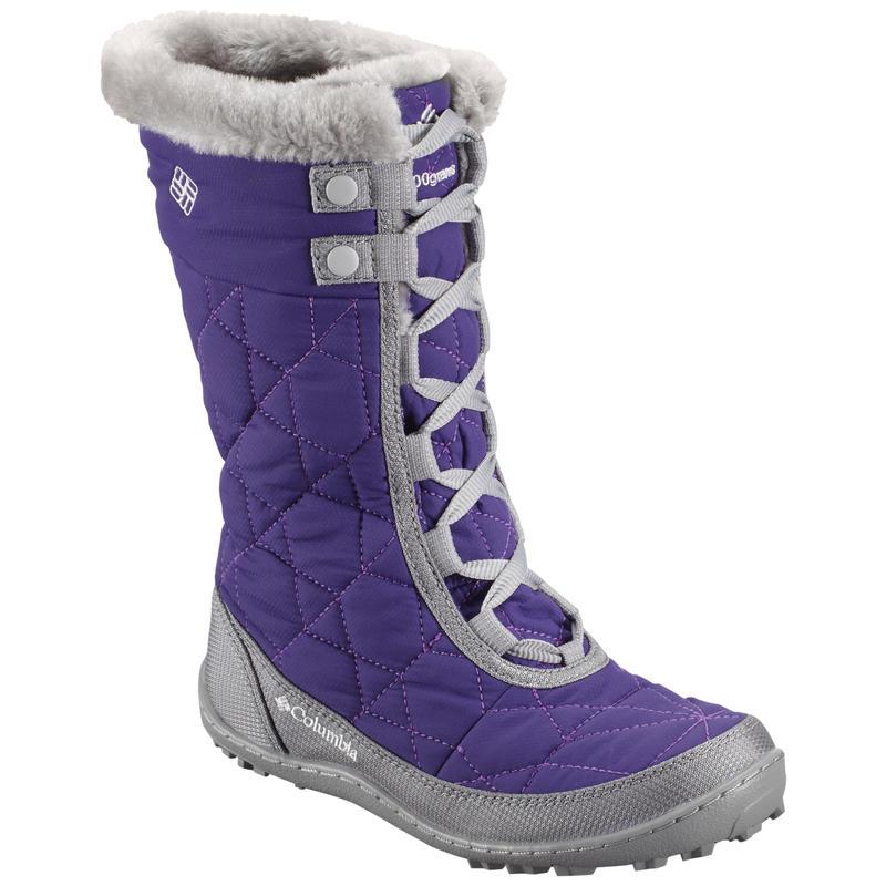 Minx Mid II Omni Heat Waterproof Winter Boots Purple/Oyster