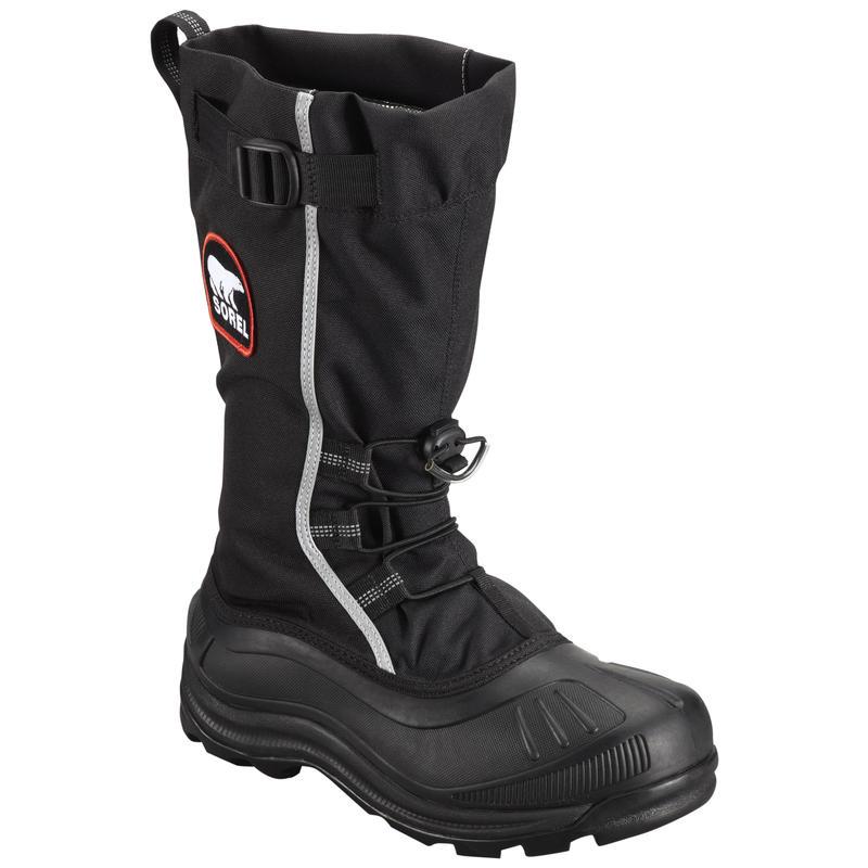 Alpha Pac XT Boots Black/Red Quartz