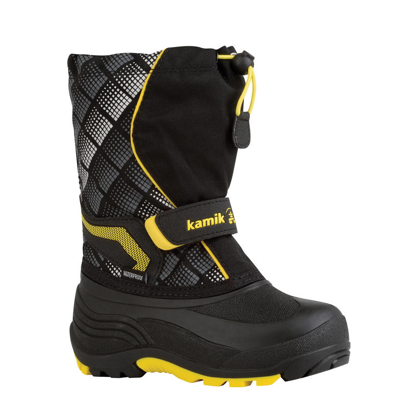 Snowbank 2 Kids Boots Black/Yellow