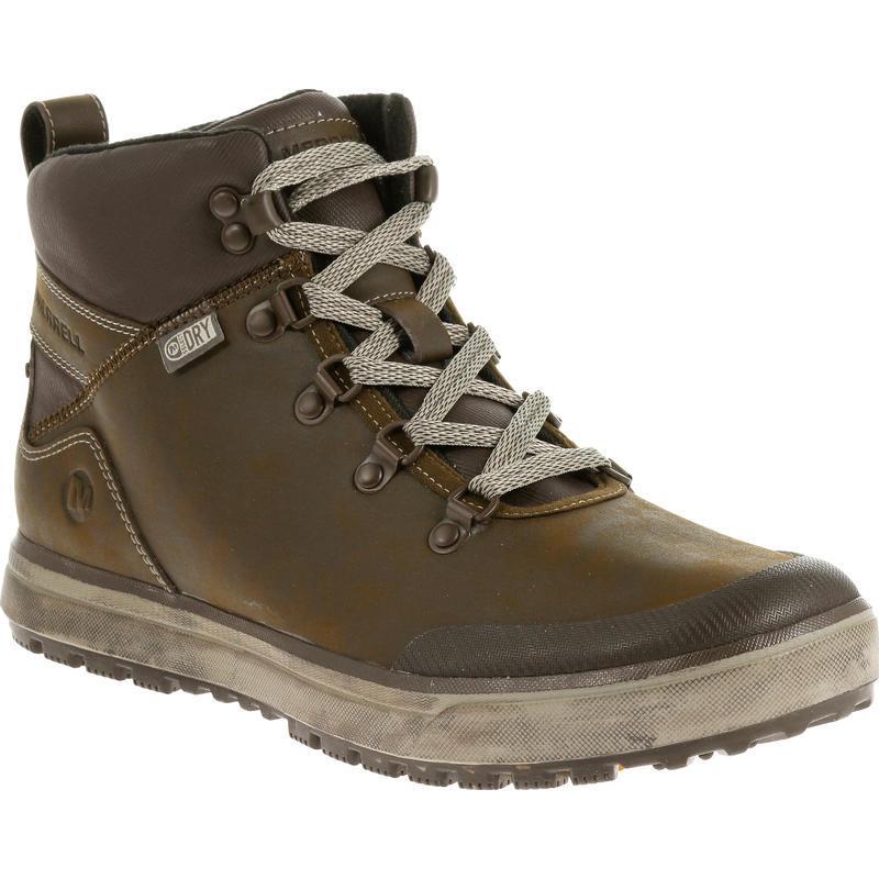 Turku Trek Waterproof Winter Boots Black Slate