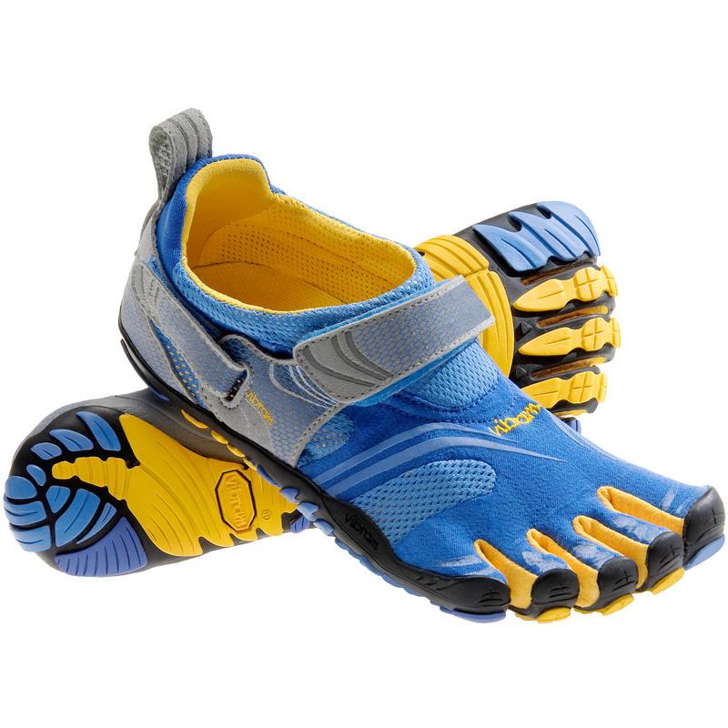 Chaussures FiveFingers Komodo Sport Bleu/Jaune