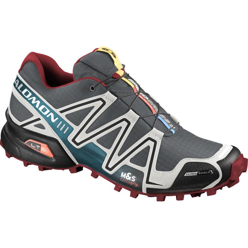 Chaussures de course Speedcross 3 CS Dark Cloud/Light Grey