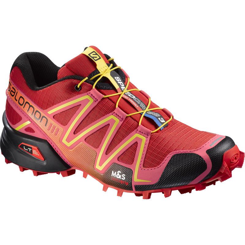 Chaussures de course sur sentier Speedcross 3 Rouge radieux/Rose garance