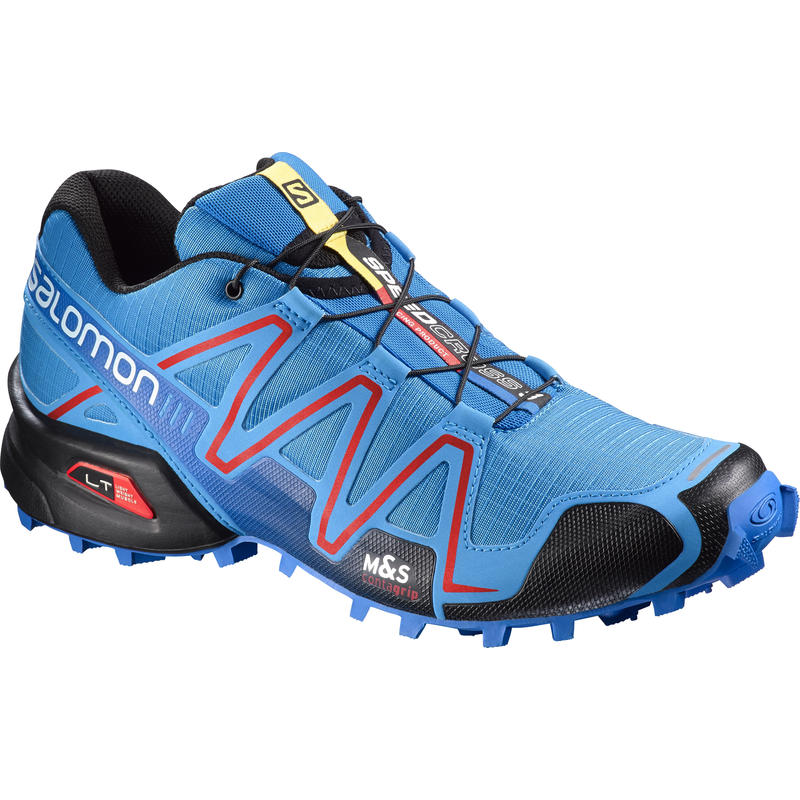 Chaussures de course sur sentier Speedcross 3 Bright Blue/Radiant Red
