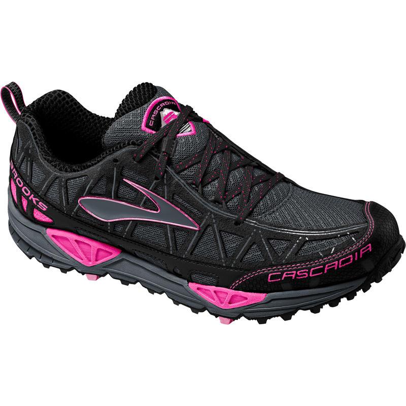 Chaussures de course sur sentier Cascadia 8 Fer/Rose vif