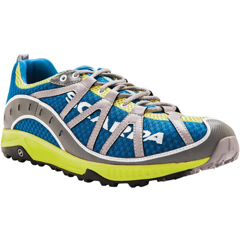 Chaussures de course sur sentier Spark Océan/Lime