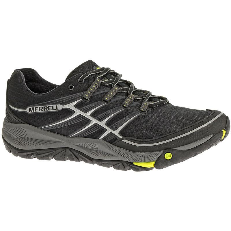 Chaussures de course sur sentier Allout Rush Noir/Lime